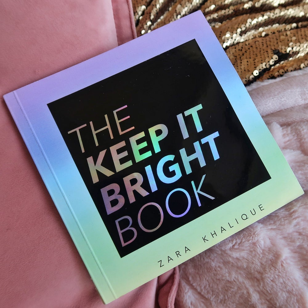 Image of the keep it bright book - limited edition cover