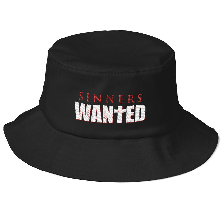 Image of Sinners Wanted Bucket Hat