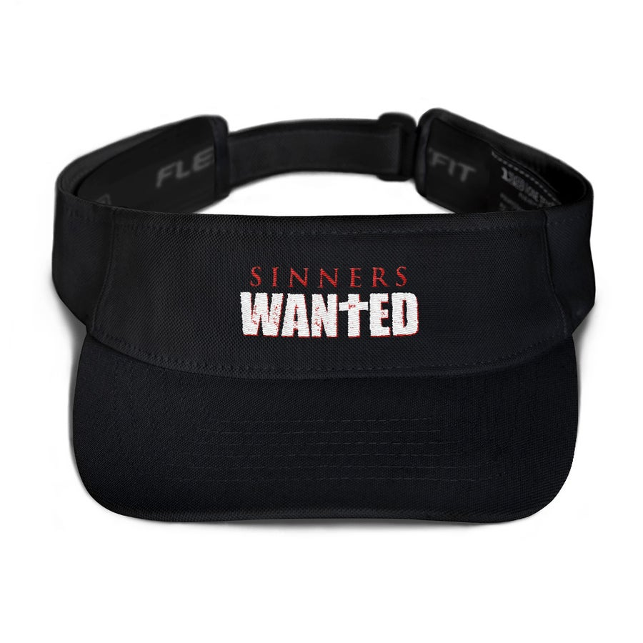 Image of Sinners Wanted Visor