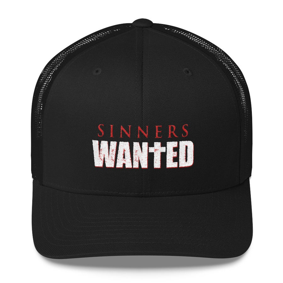 Image of Sinners Wanted Trucker Hat
