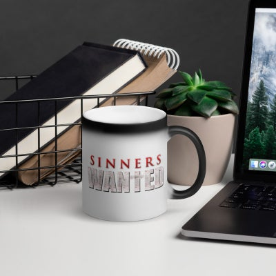 Image of Sinners Wanted Magic Mug - 11oz