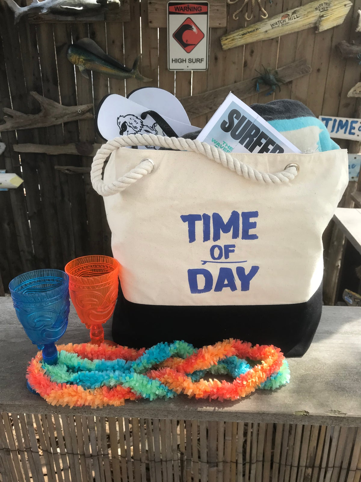 Image of Time of Day Beach Bag