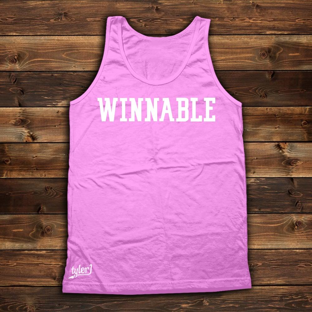 Winnable - Pale Pink Tank
