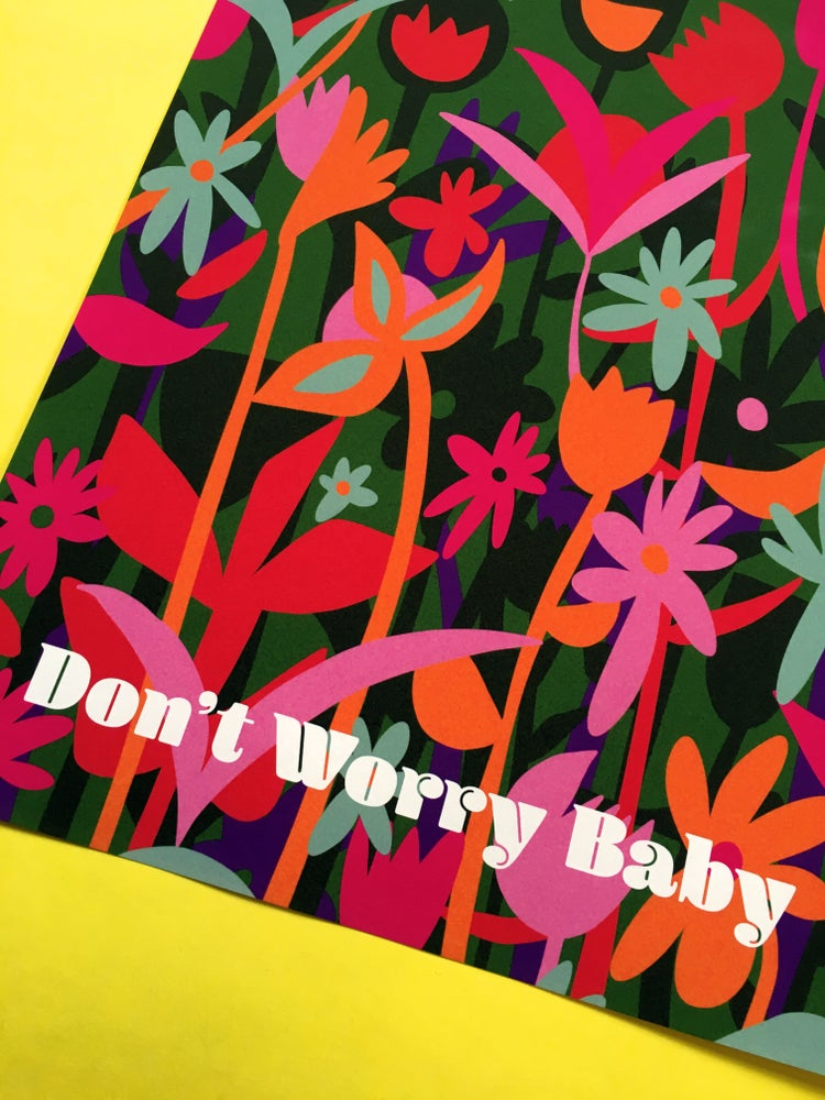 Image of Don't Worry Baby-11 x 14 print