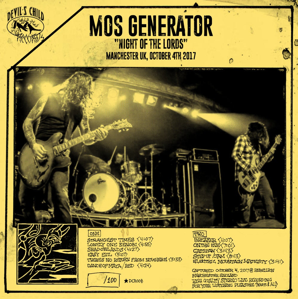 "Image of Mos Generator - Night of the Lords - 12"" vinyl"