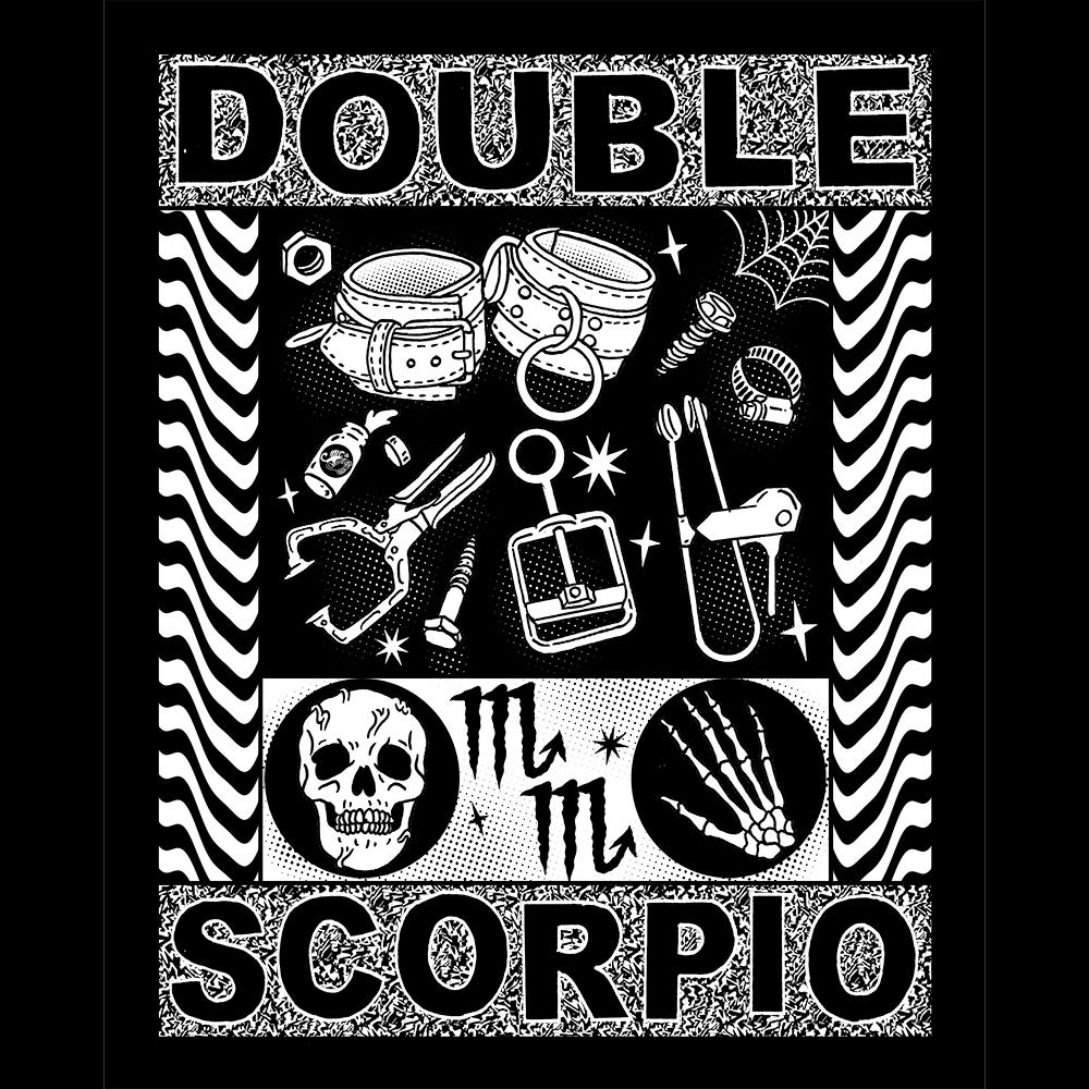 Image of Double Scorpio Fetish shirt