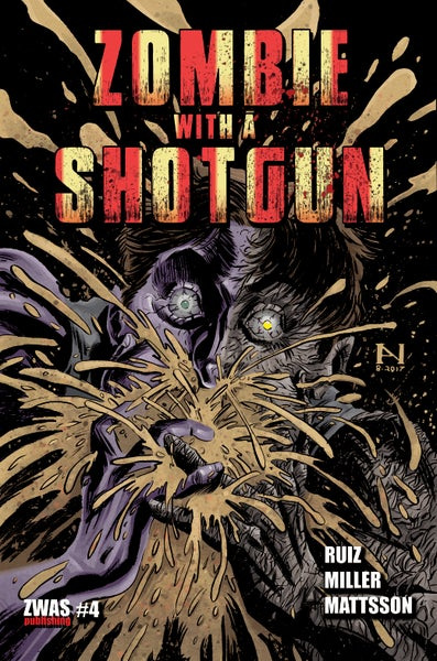 Image of Zombie with a Shotgun Comic Issue #4