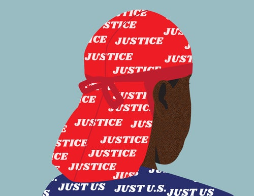 Image of Justice - Art Print