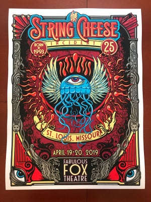 Image of The String Cheese Incident - The Fabulous Fox Theatre 2019