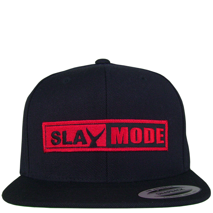 Image of Slay Mode Snap Back (black)