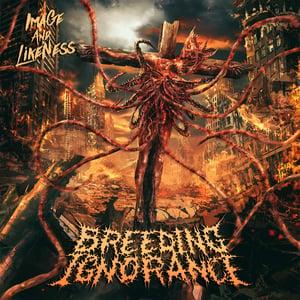 Image of BREEDING IGNORANCE Image And Likeness CD/T-shirt