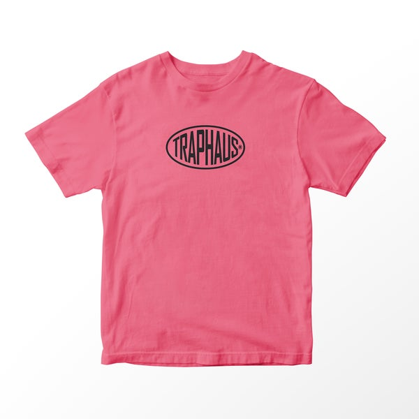 Image of BAGUETTE LOGO CORAL T-SHIRT