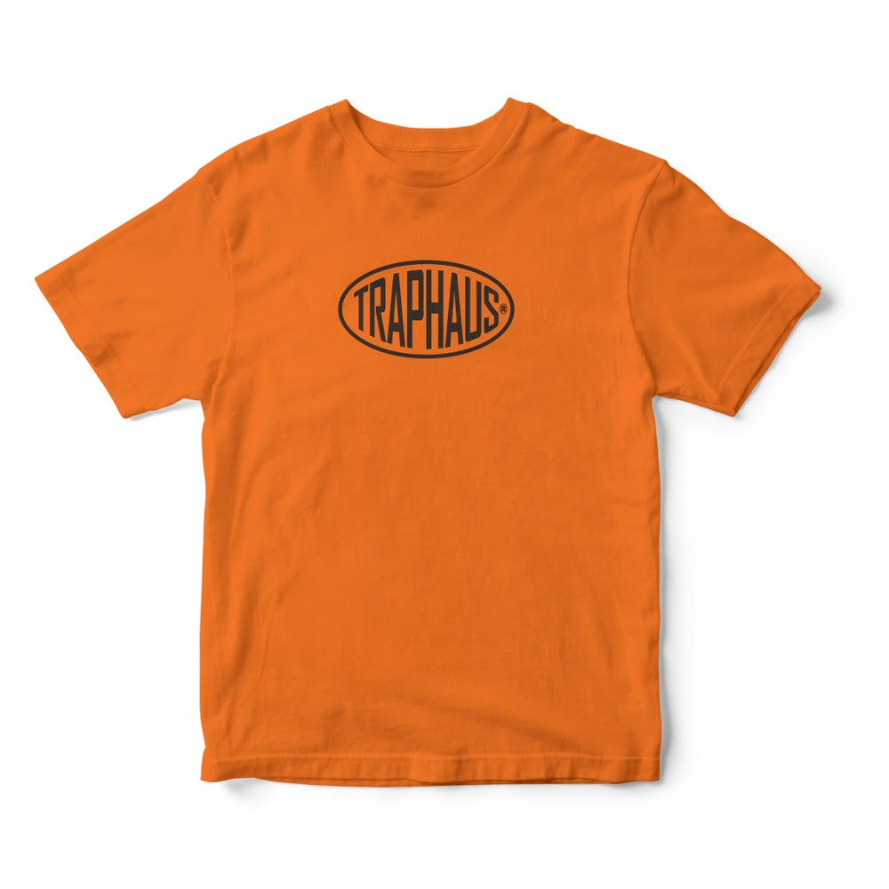 Image of BAGUETTE LOGO BURNT ORANGE T-SHIRT