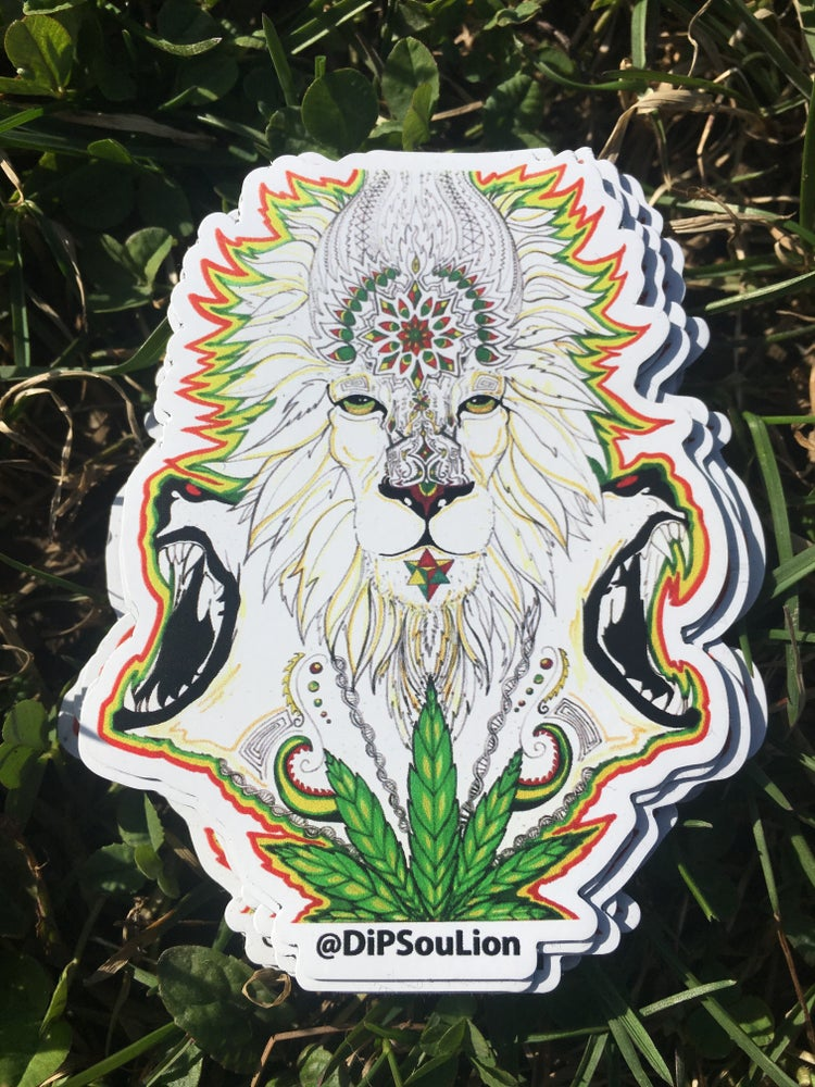 Image of Lion Tribe magnet