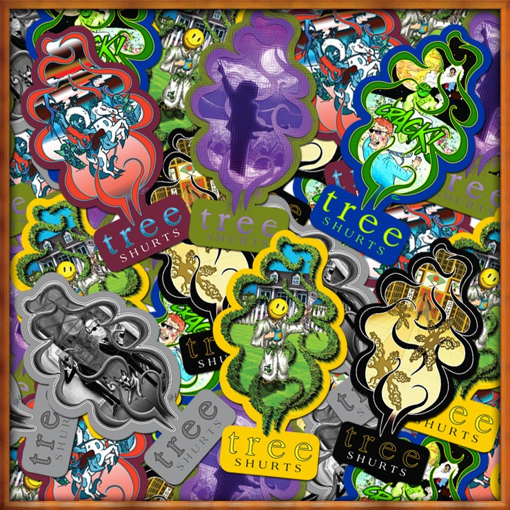 Image of Collection 4 G1 Clones Sticker Pack