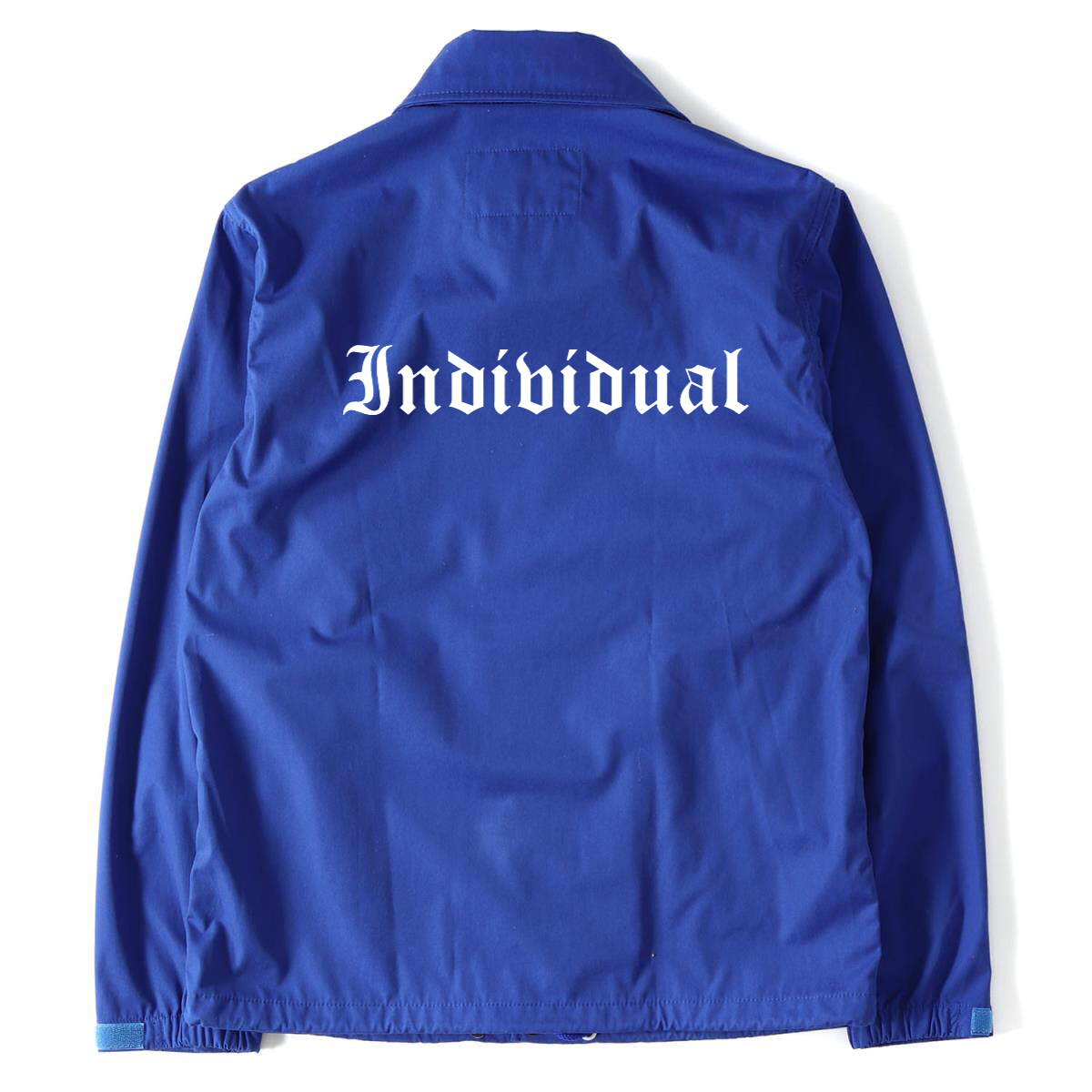 Image of INDI Blue Coach Jacket