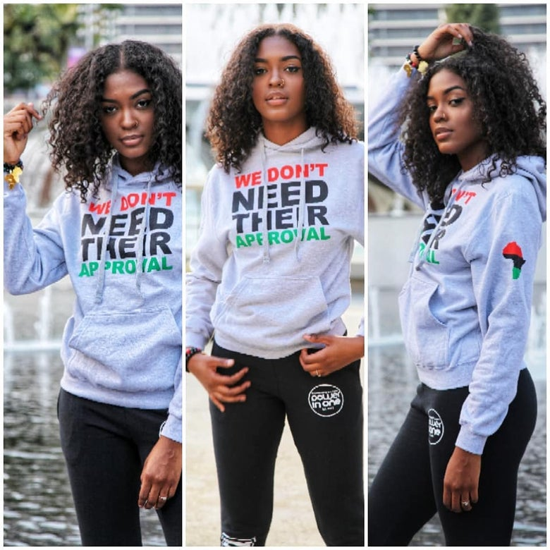 Image of We Don't Need Their Approval Hoodie
