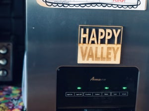Image of Happy Valley Square Magnet