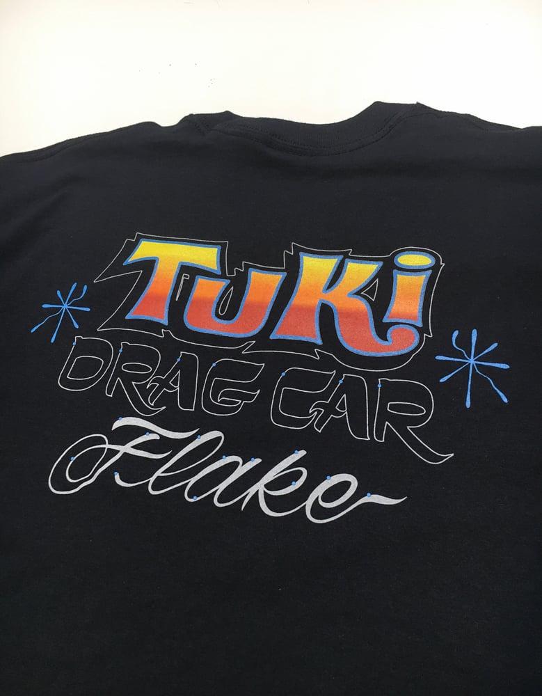 Image of TUKI DRAG-CAR T-SHIRT-LONG SLEEVE!!