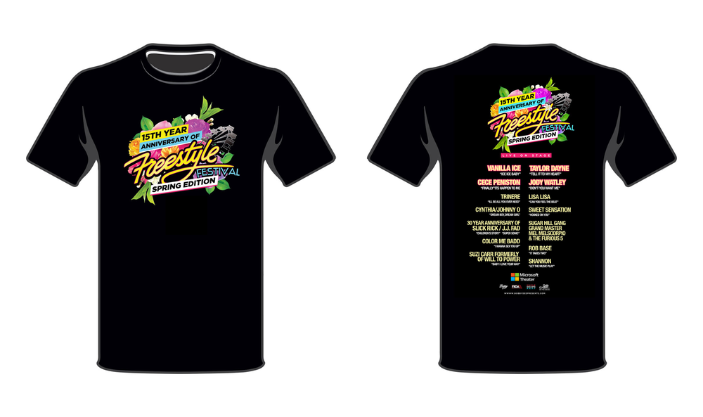 574b2250c5a3a Image of Concert T-Shirt- Freestyle 15th Anniversary Spring Edition