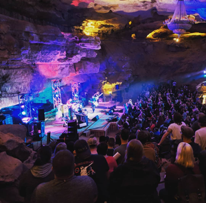 Image of Early Special: Will call ticket for both Saturday July 20 & Sunday July 21 Cave Shows w/ poster