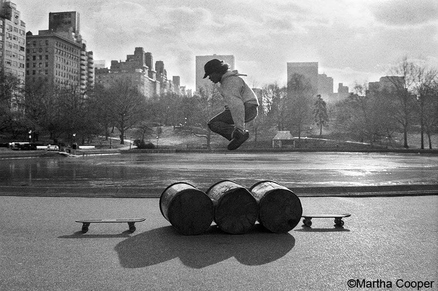 "Image of Martha cooper ""Skateboard for charity"""