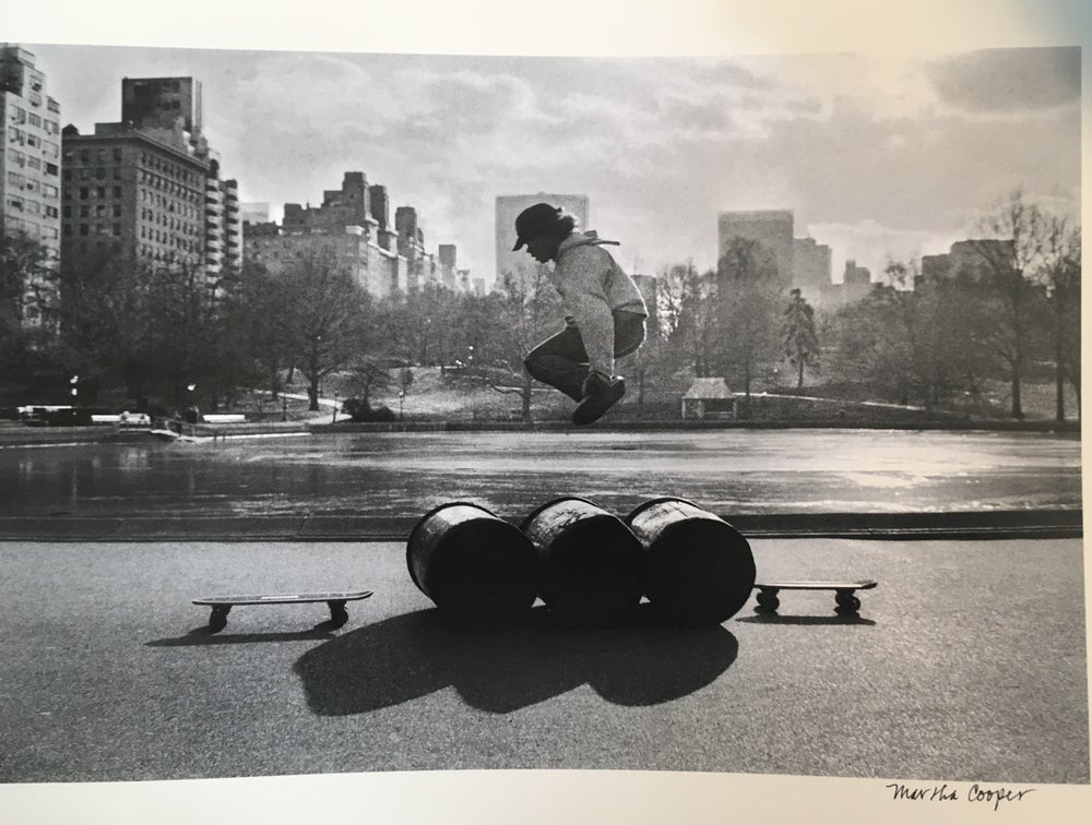 "Image of Martha cooper ""Skateboard for charity"""
