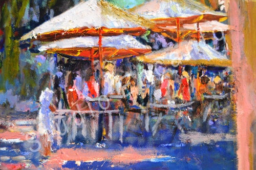 Image of Sea Side Cafe by Helen Tilston
