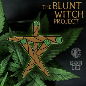 Image of Blunt Witch Project (Enamel Pin)