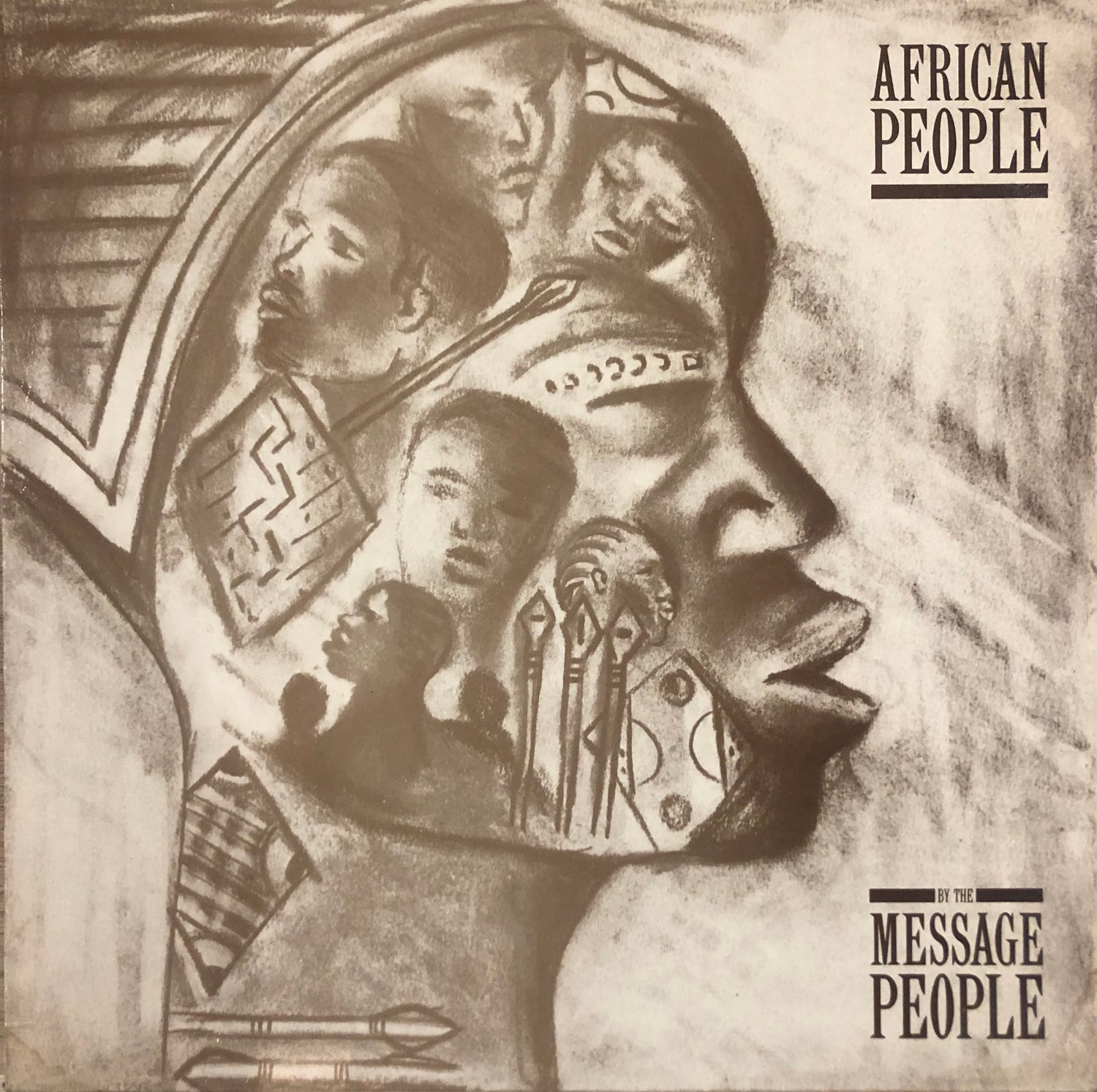 Image of The Message People ‎– African People