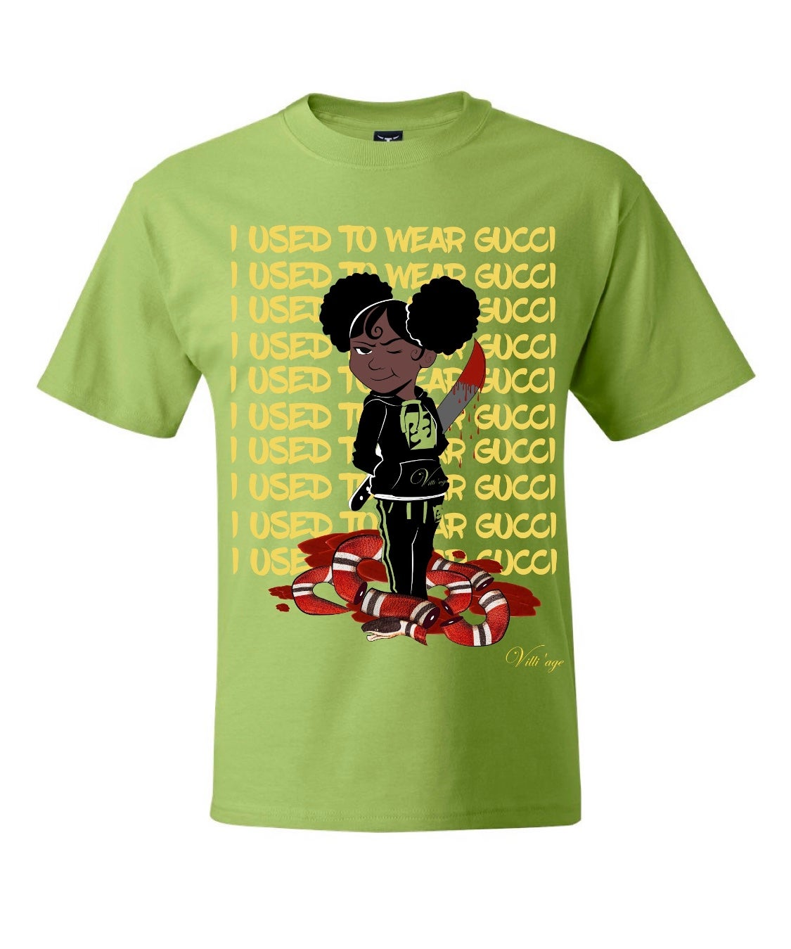 "Image of Vill'age "" I Used To Wear Gucci "" tee"