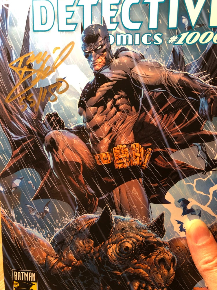 Image of *SIGNED AND NUMBERED EDITION* DETECTIVE COMICS 1000