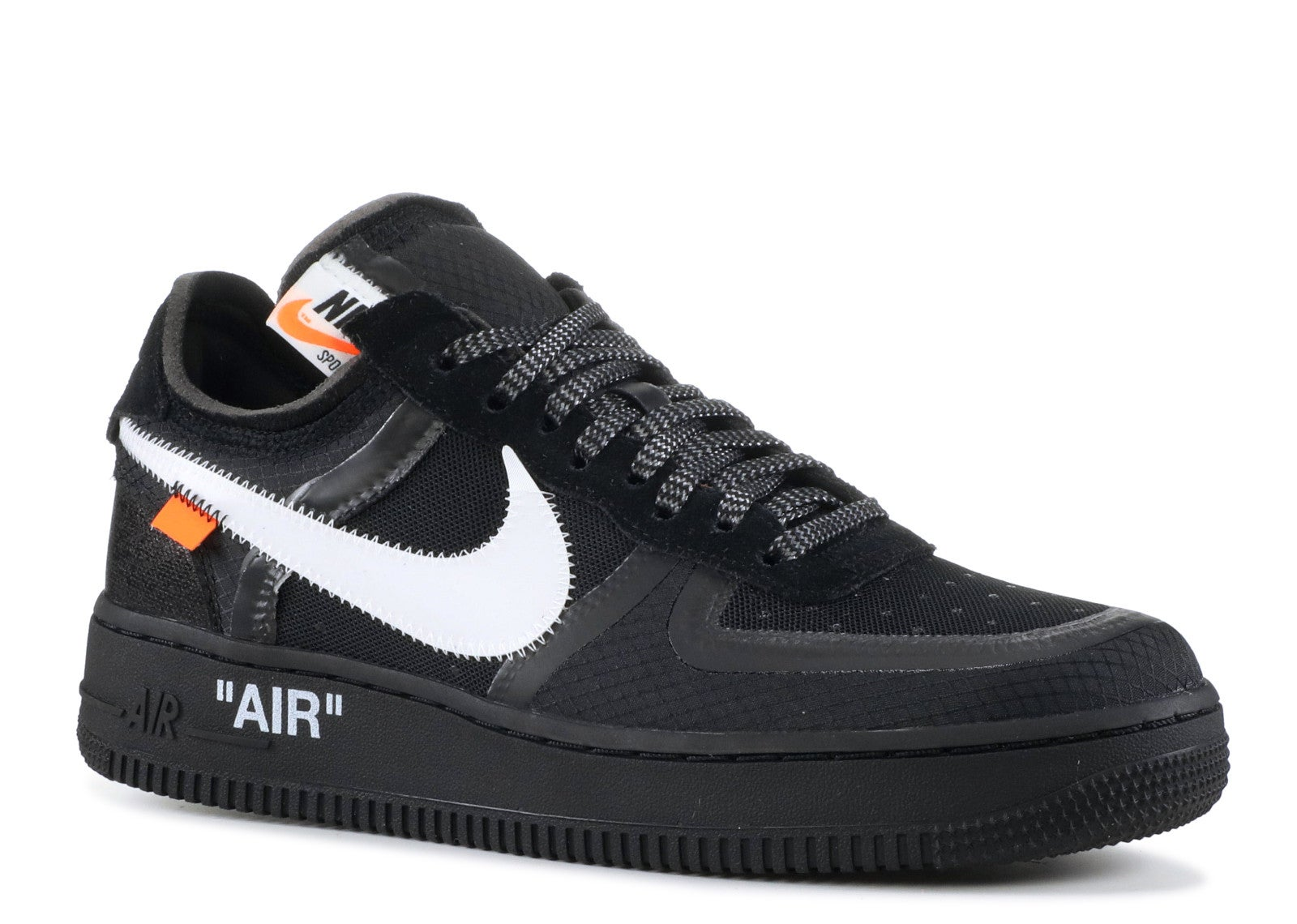 The 10 Nike Air Force 1 Low Off White Black Tunisie Annonce