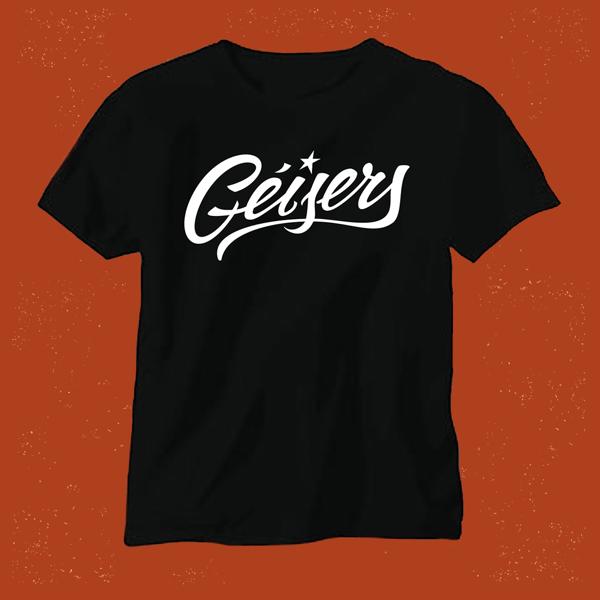 Image of Camiseta Logo Géisers