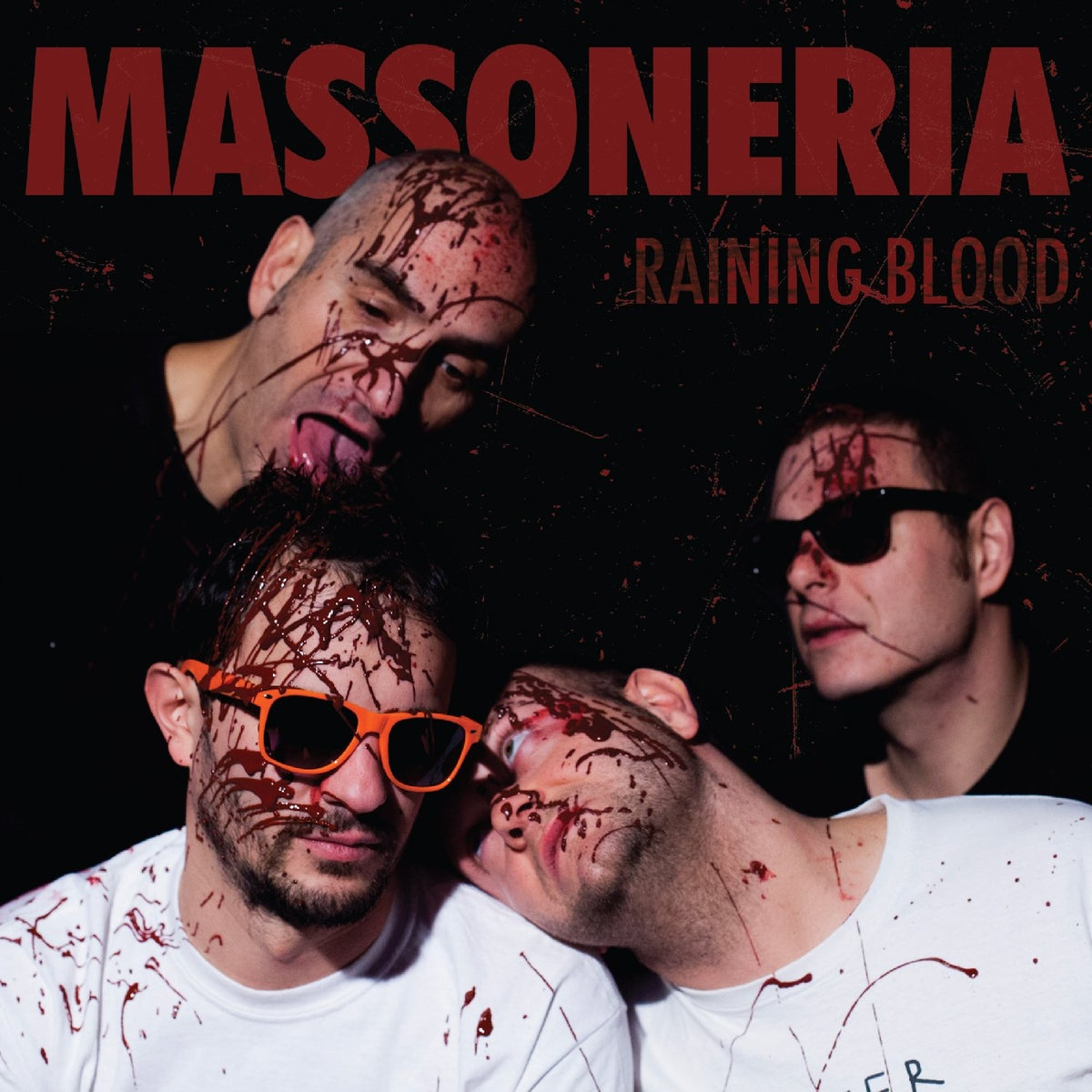 Image of Massoneria Ramonica - Raining blood 7""