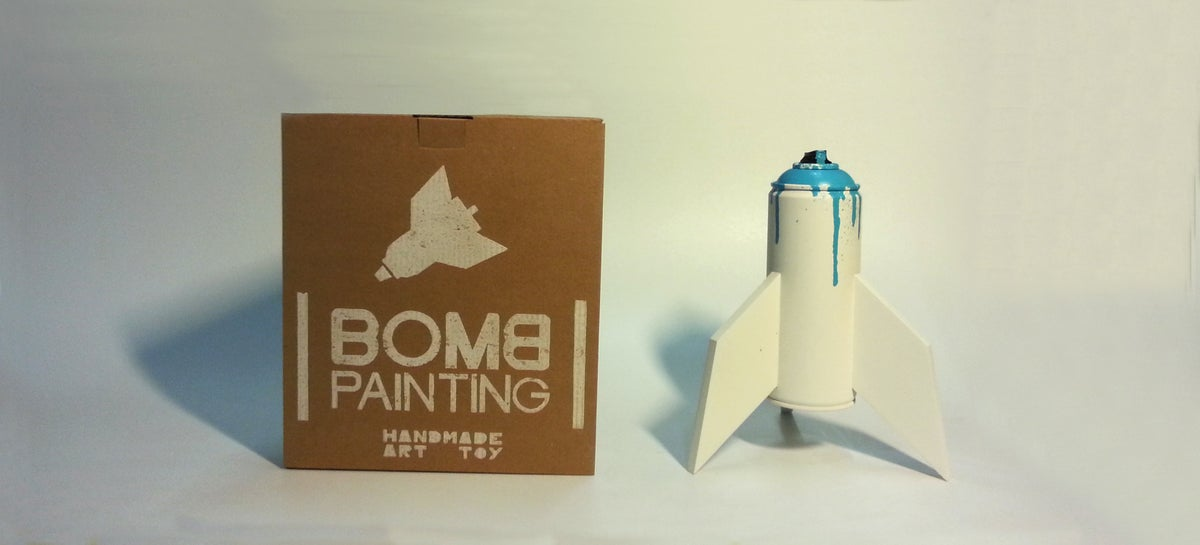 Image of Bomb painting