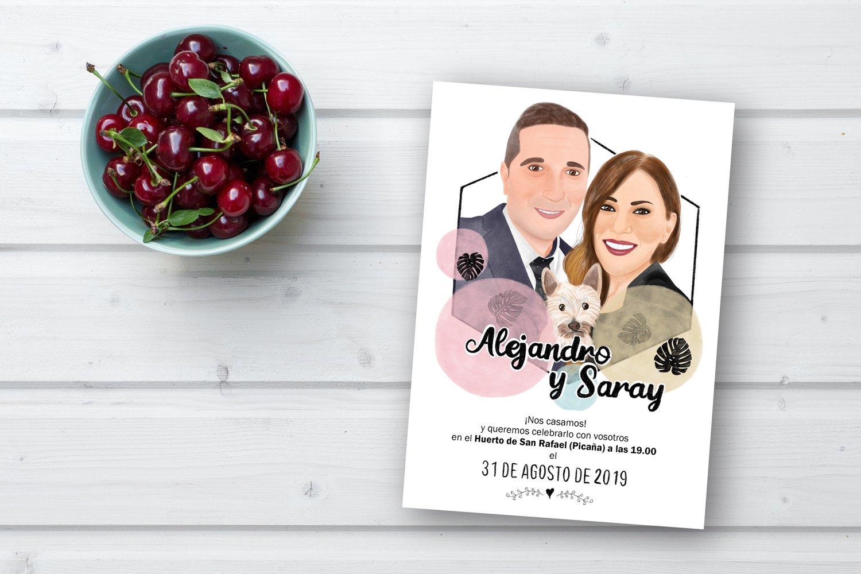 Image of Invitaciones de boda (formato digital) / Wedding invitations (digital format)