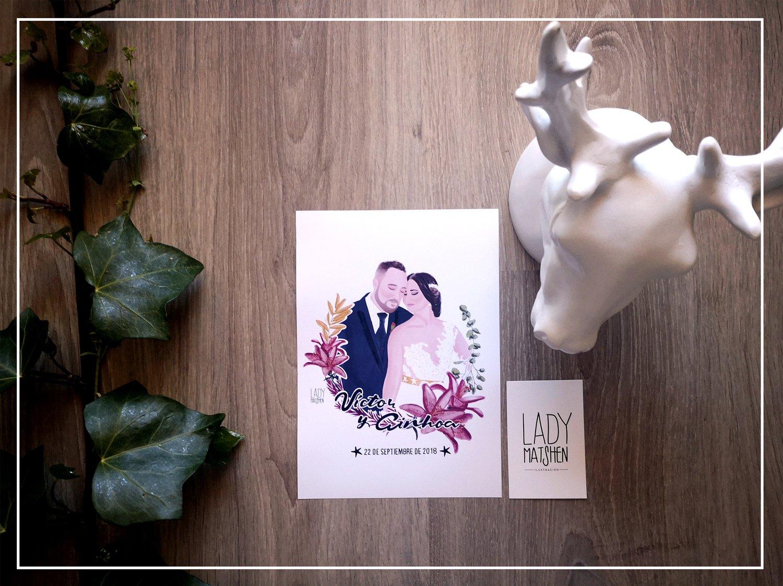 Image of Impresión (no diseño) invitaciones de boda (PRECIO POR INVITACIÓN)