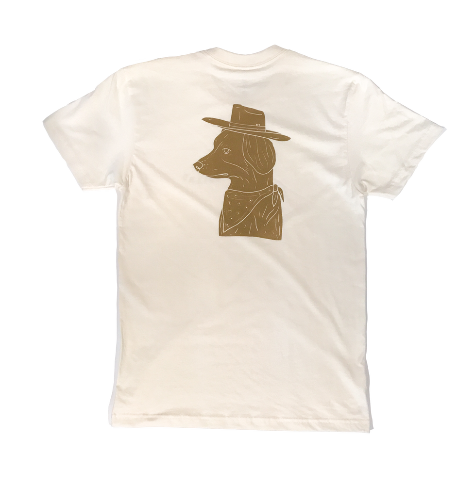 Image of Bandit Tee - Natural