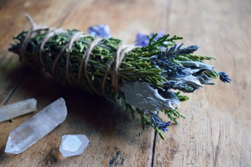 Image of Aura Cleansing Smoke Wand | smudge stick | auric energy | higher self