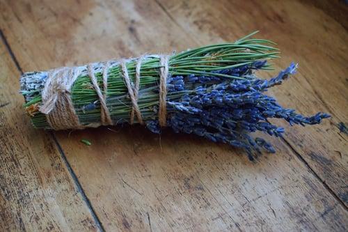 Image of Deepest Dreams Smoke Wand | mugwort smudge stick | dream smudge | dream incense | spell work