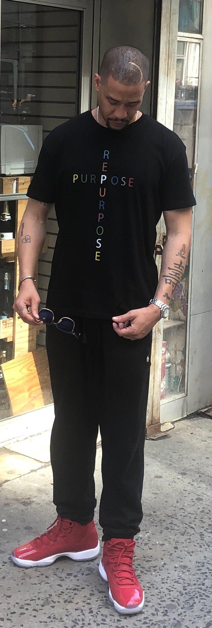 The PURPOSE Cross T shirt