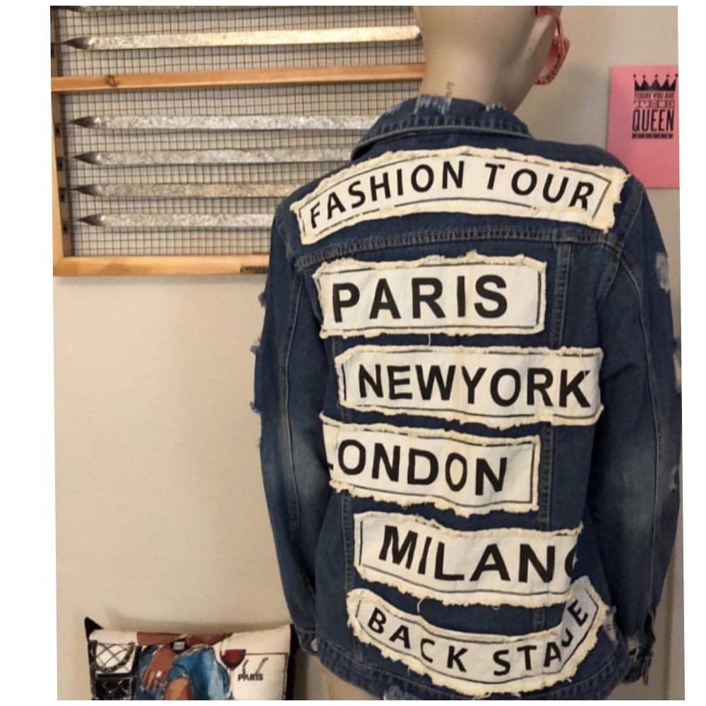 Image of Denim Fashion Jacket