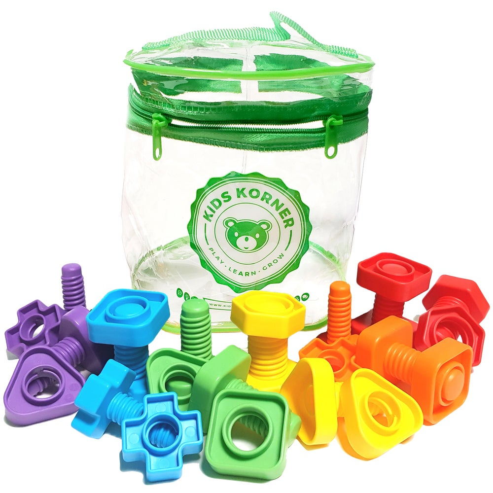 Image of Nuts & Bolts Set - 24pc