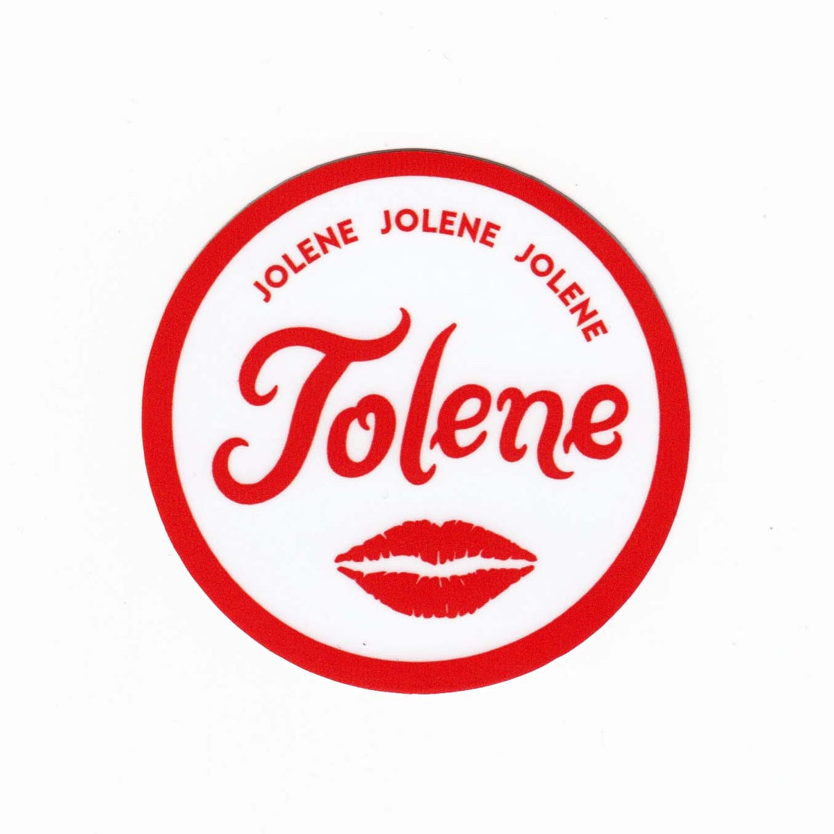 Image of Jolene Sticker