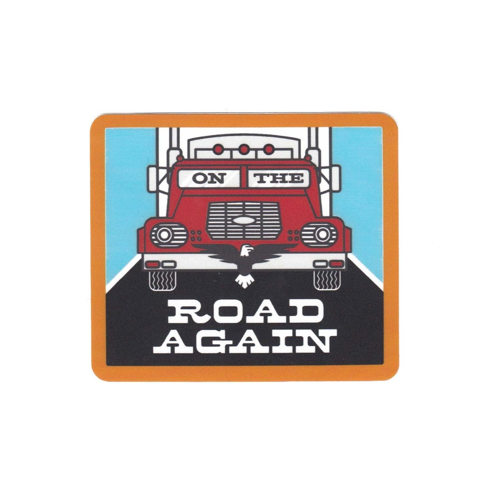Image of On the Road Again Sticker