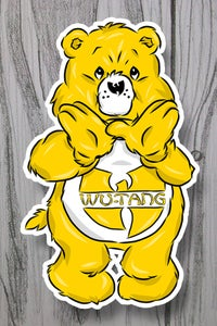 Image of 01 Hip-Hop Bear 3-inch sticker