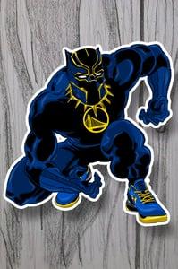Image of Splash Panther 3-in sticker