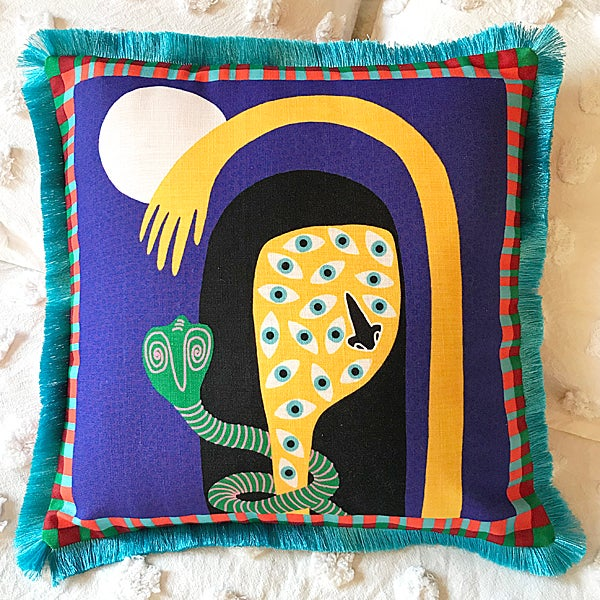 Image of Moon Dancer Throw Cushion