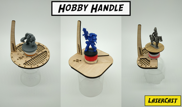 Image of LaserCast hobby handle